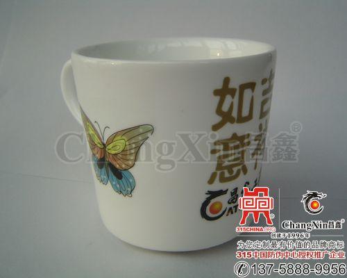 陶瓷水杯贴花